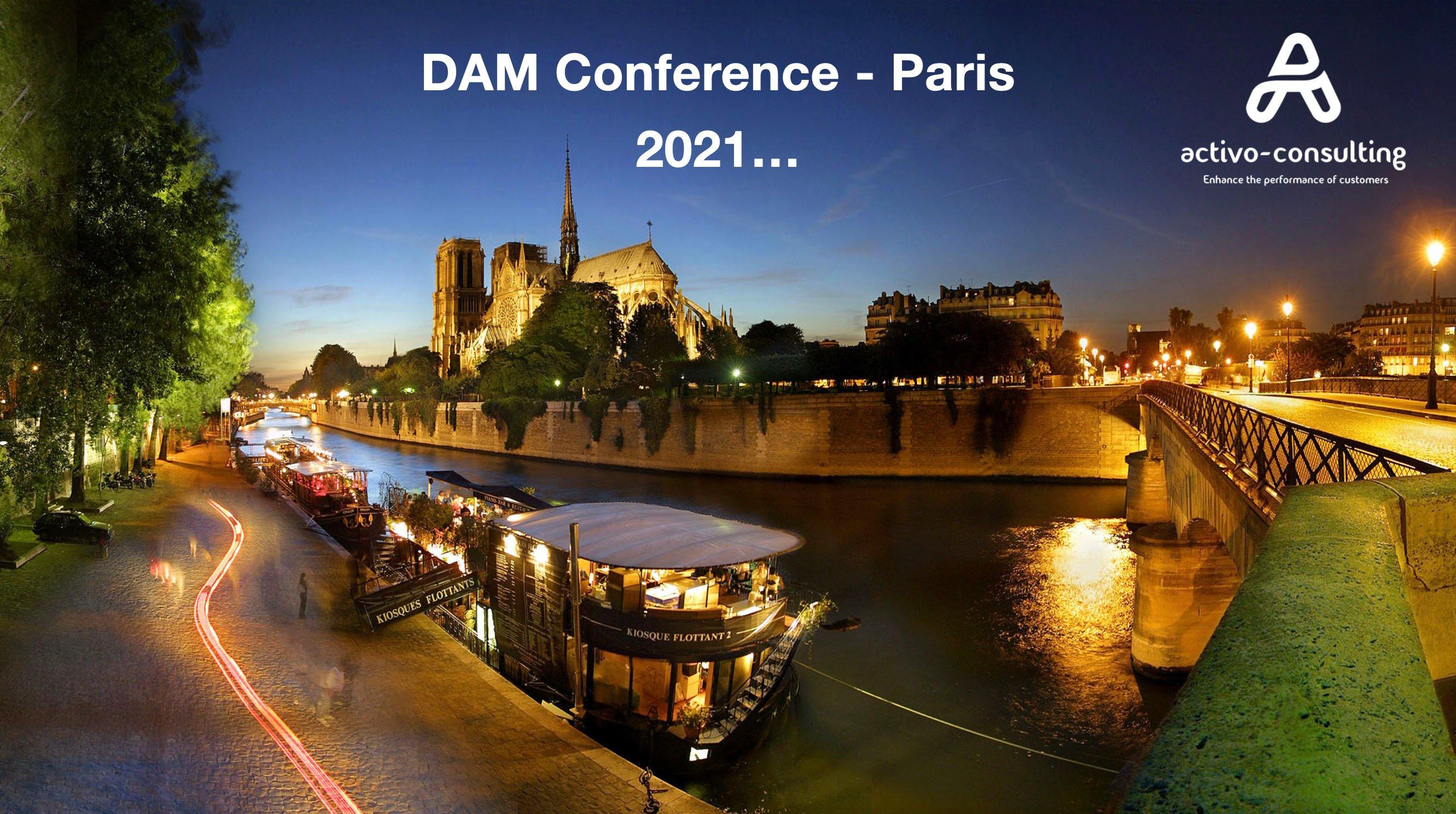 DAM Paris conference