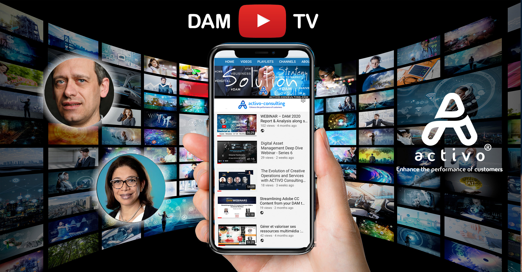 DAM TV Activo